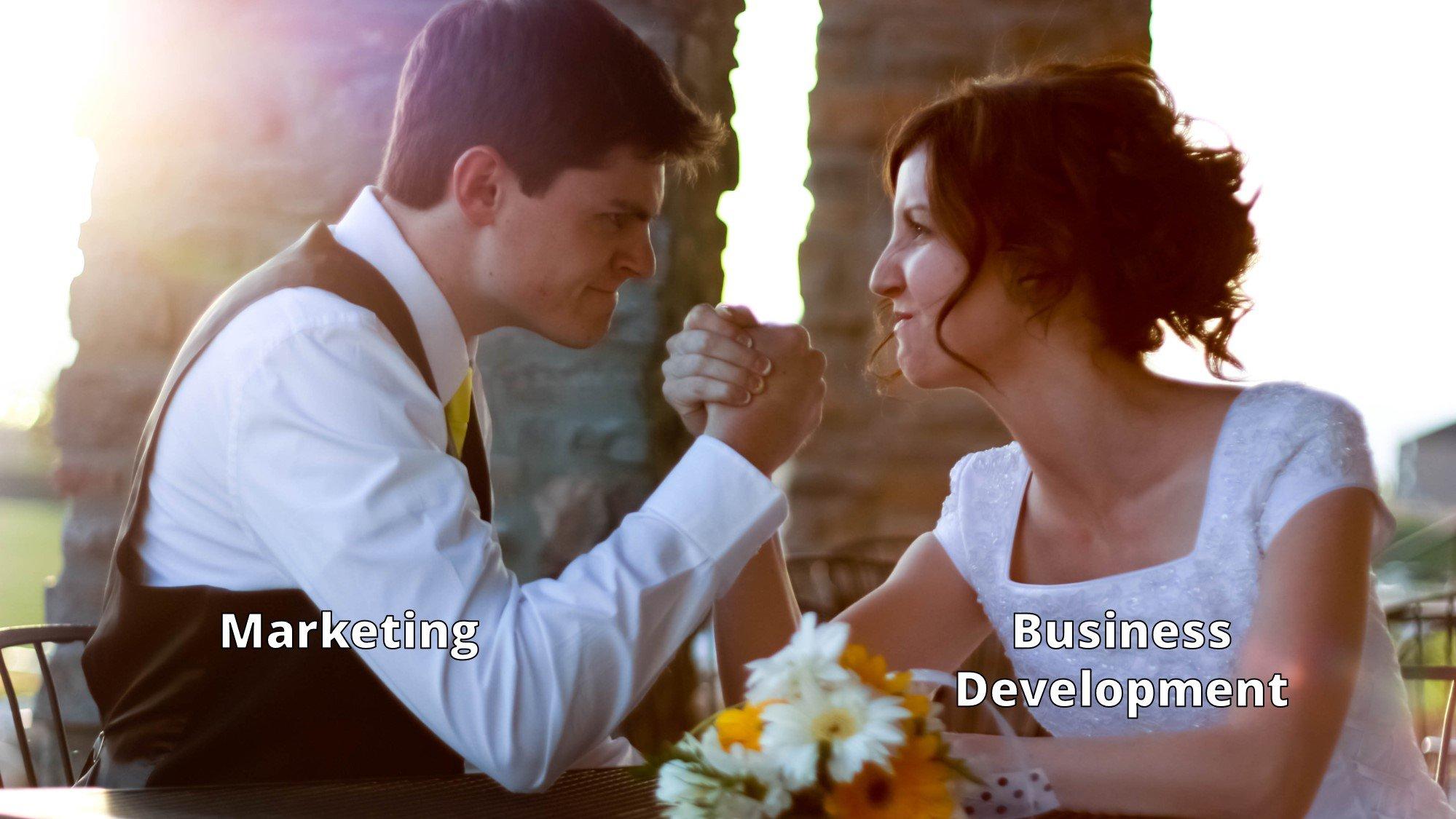 marketing vs business development